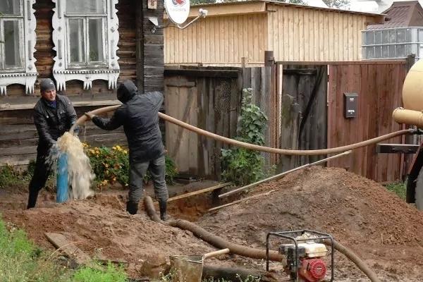 Промывка скважин после бурения